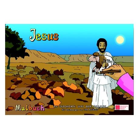 Malbuch Jesus