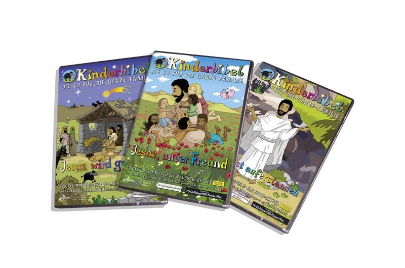 Kinderbibel CD-ROMs