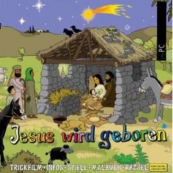 Zum Downloaden für PC! Jesus wird geboren, interaktive Zeichentrick- und Hörbibel für PC/Mac zum Herunterladen
