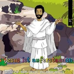 PC-Spiel jetzt herunterladen: Jesus ist auferstanden, interaktive Zeichentrick- und Hörbibel für PC/Mac zum Herunterladen