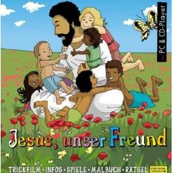 PC-Spiel jetzt herunterladen: Jesus unser Freund, interaktive Zeichentrick- und Hörbibel für PC/Mac zum Herunterladen