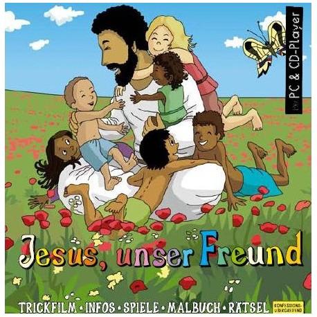 Zum Downloaden für PC! Jesus unser Freund, interaktive Zeichentrick- und Hörbibel für PC/Mac zum Herunterladen