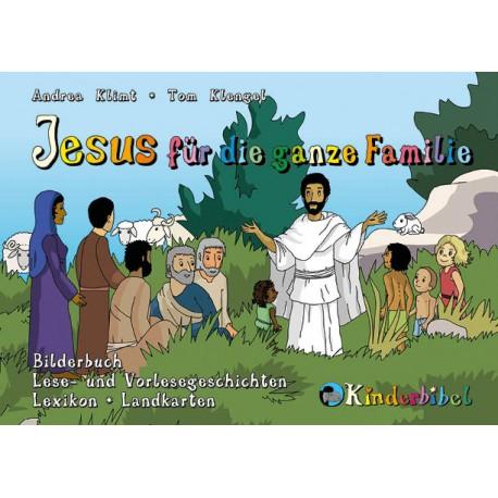 Kinderbibel-Buch Jesus für die ganze Familie