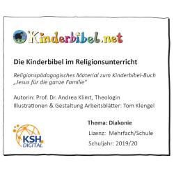 Kinderbibel-Arbeitsblätter zum Thema Diakonie