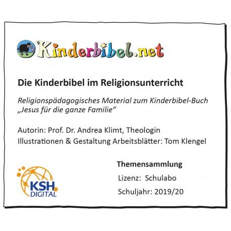 Kinderbibel-Arbeitsblätter Schul-Abo 2019/20
