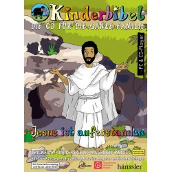 Jesus ist auferstanden, interaktive Zeichentrick- und Hörbibel