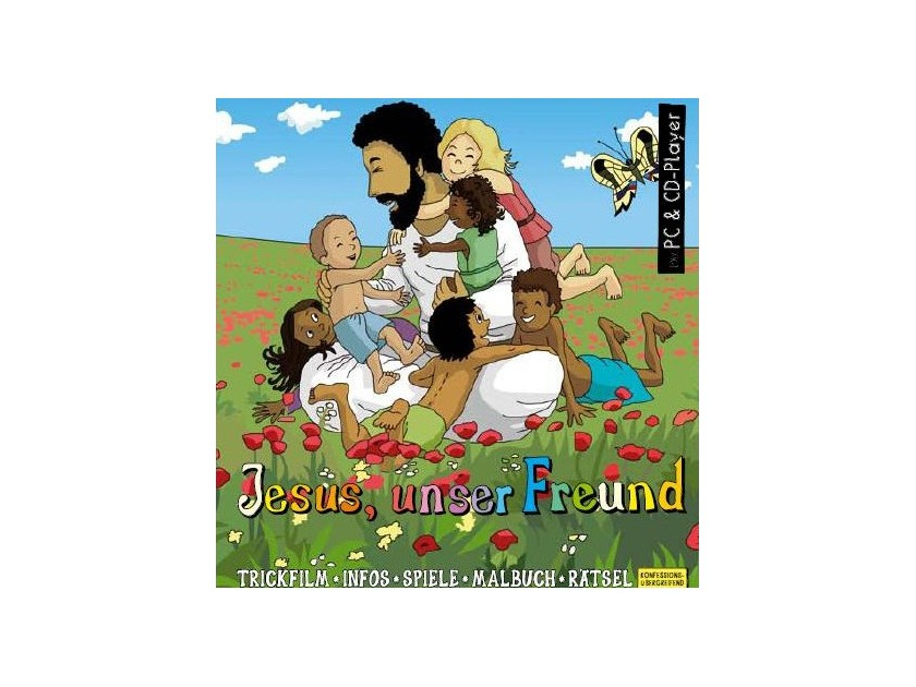 Kinderbibel Download für PC Jesus unser Freund, interaktive Zeichentrick-Bibel