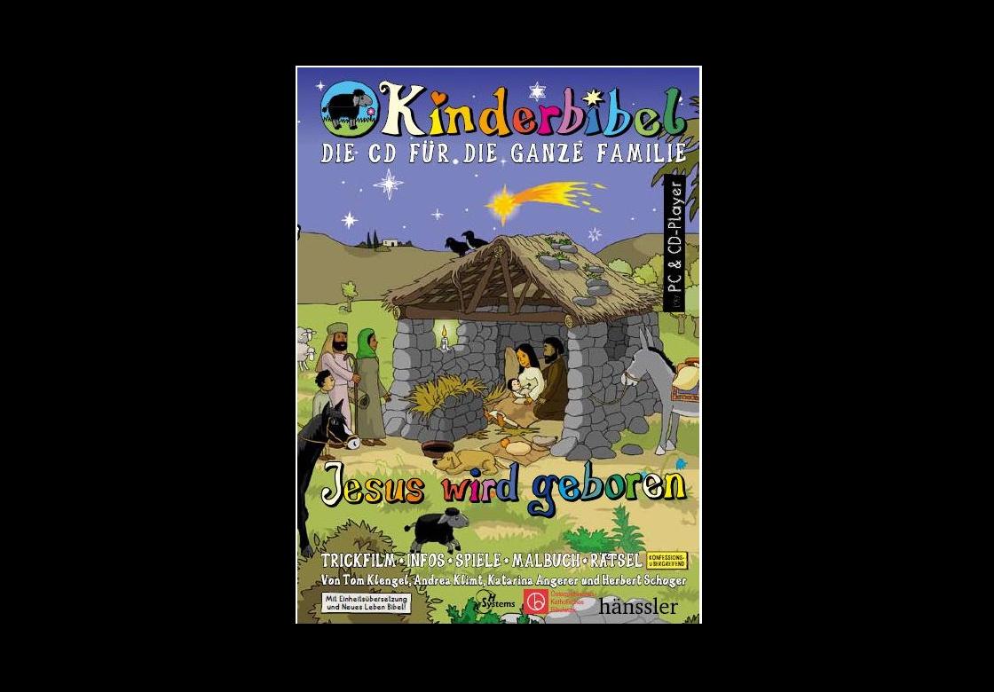 Kinderbibel.at CD-ROM Jesus wird geboren