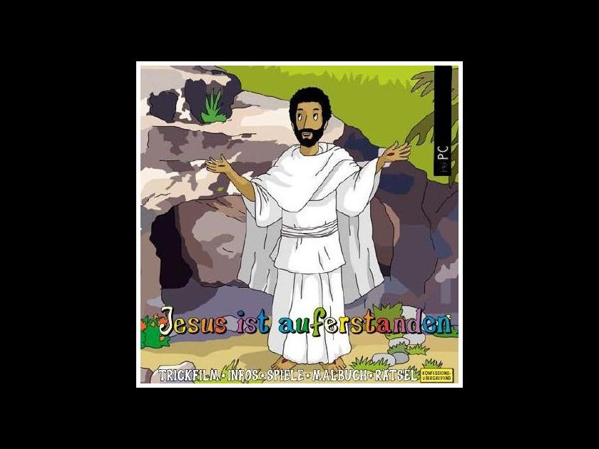 Kinderbibel Download für PC Jesus ist auferstanden, interaktive Zeichentrick-Bibel